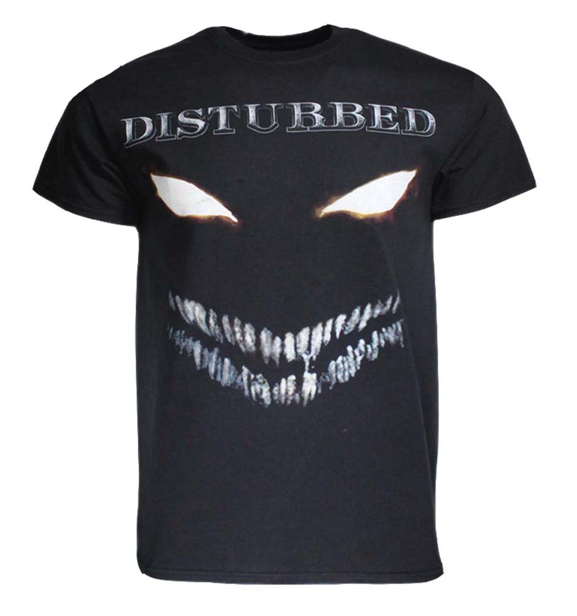 Disturbed Scary Face T-Shirt