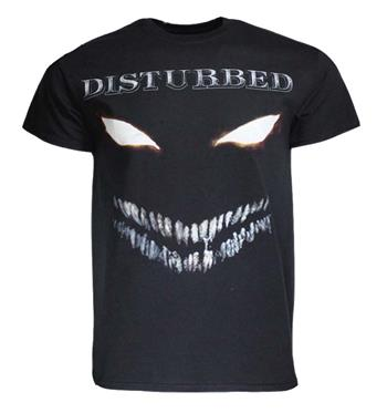 Buy Disturbed Scary Face T-Shirt by Disturbed