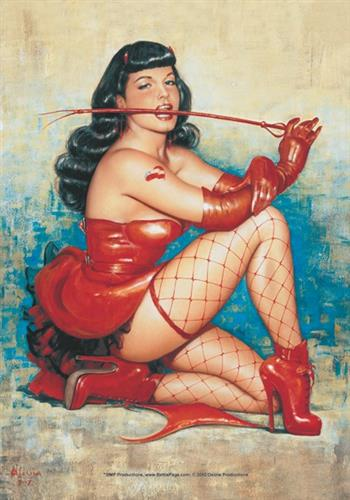 Bettie Page Don't Tread Me