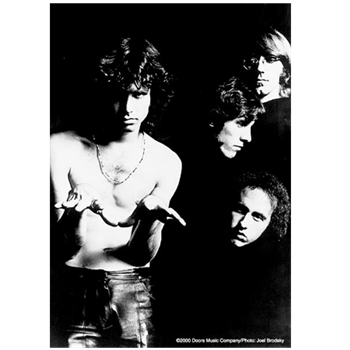 Doors (the) Band Black & White