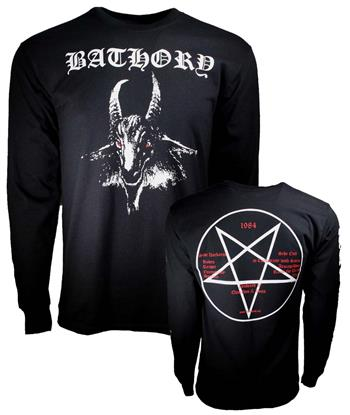 Dropkick Murphys Bathory White Goat Long Sleeve T-Shirt