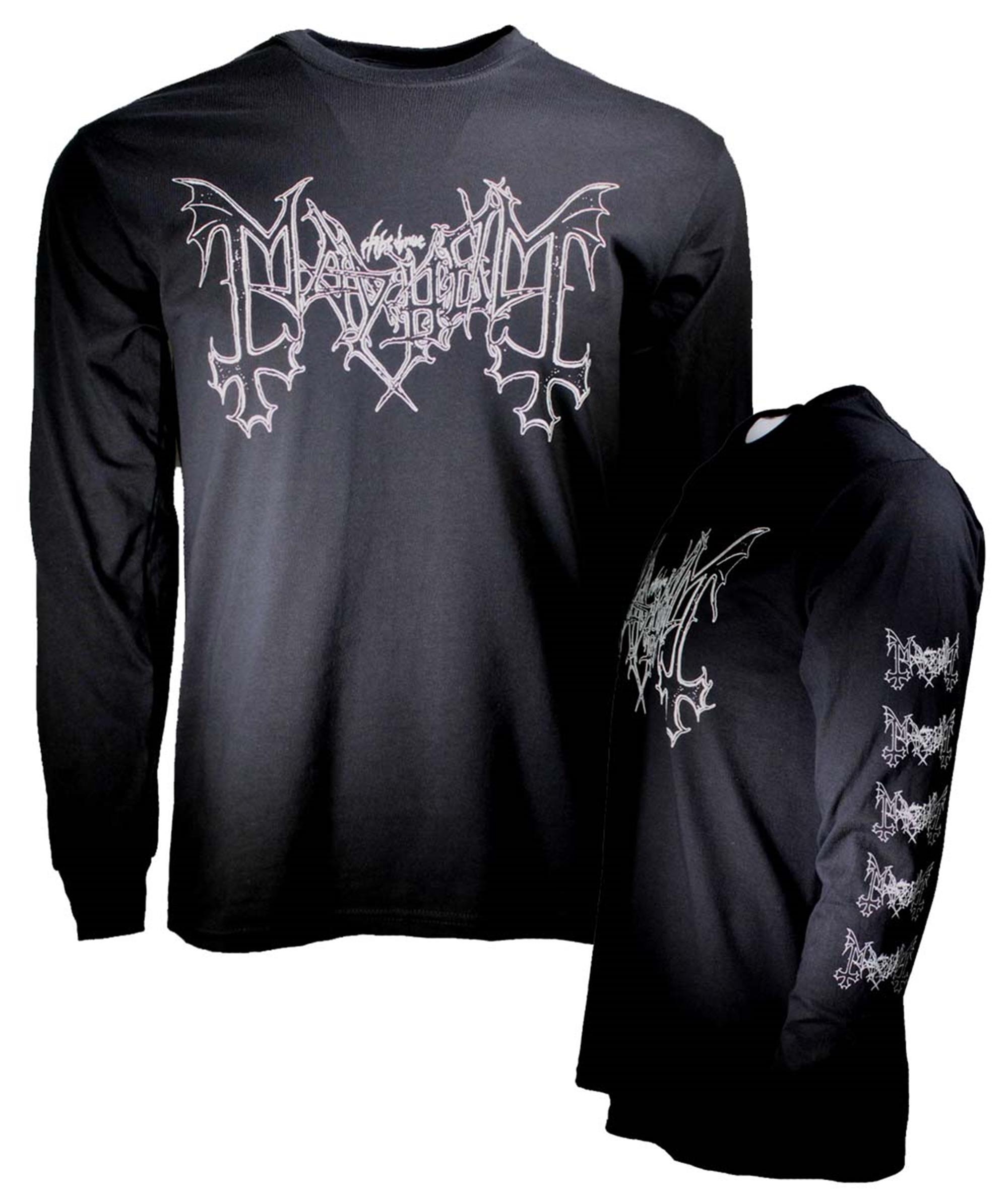 Mayhem Logo Long Sleeve T-Shirt