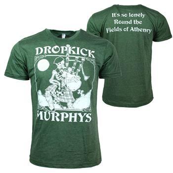 Dropkick Murphys Dropkick Murphys Vintage Skeleton Piper T-Shirt