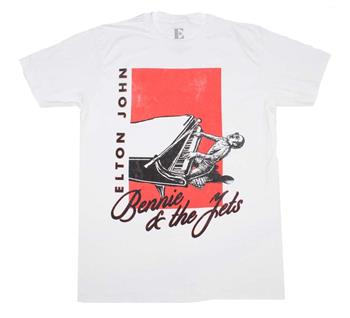 Buy Elton John Bennie & The Jets T-Shirt by Elton John