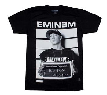 Buy Eminem Line Up T-Shirt by Eminem