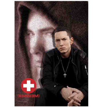 Eminem Sitting pose