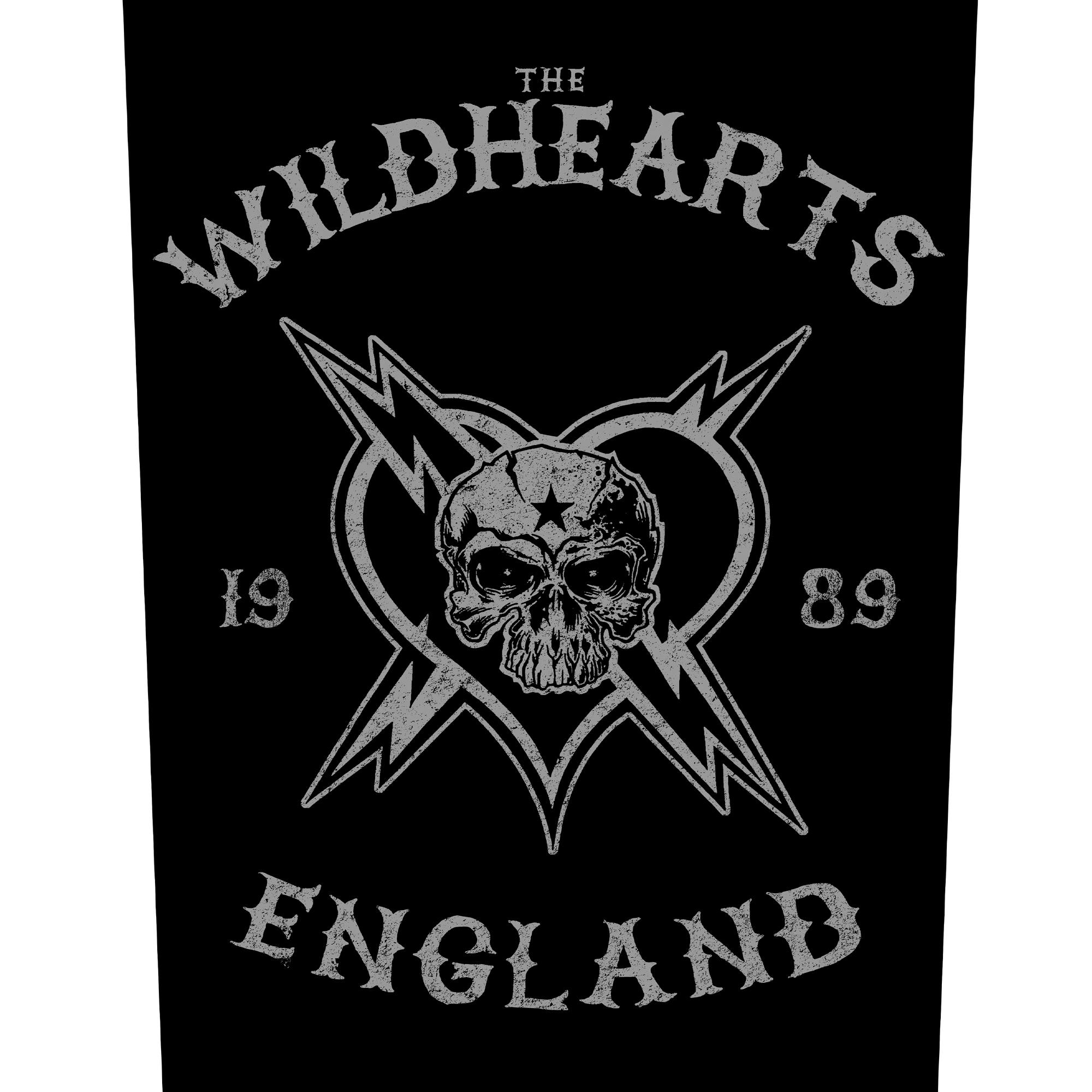 England Biker Backpatch