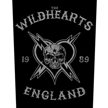The Wildhearts England Biker Backpatch