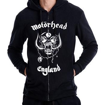 Motorhead England Zip Hoodie