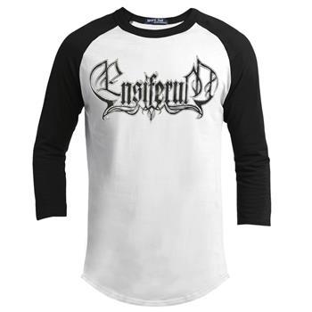 Ensiferum Logo Baseball Longsleeve Shirt (Import)