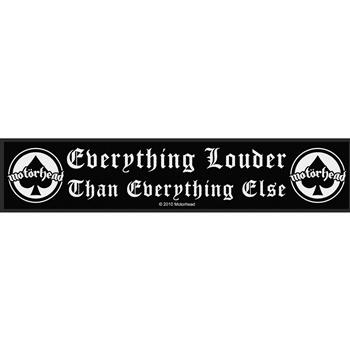 Buy Everything Louder Patch by Motorhead