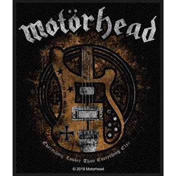 Motorhead Everything Louder Patch