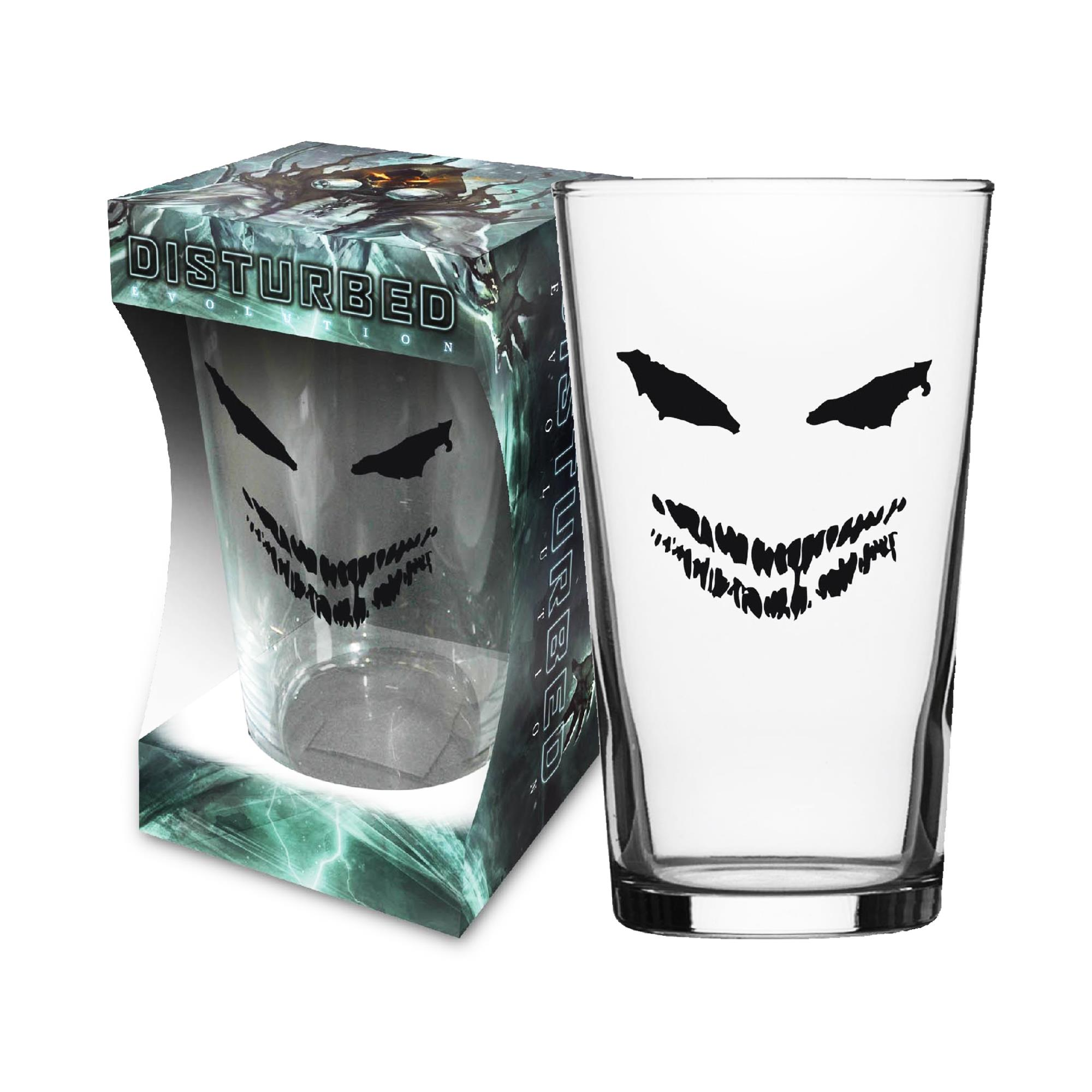 Face Beer Glass
