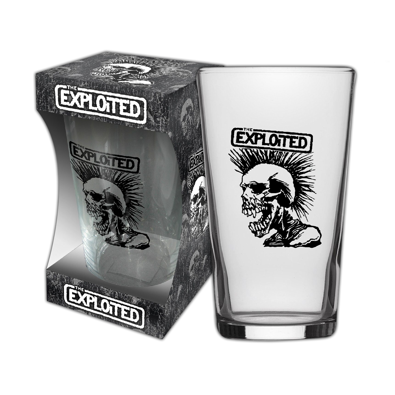 Skull Beer Glass
