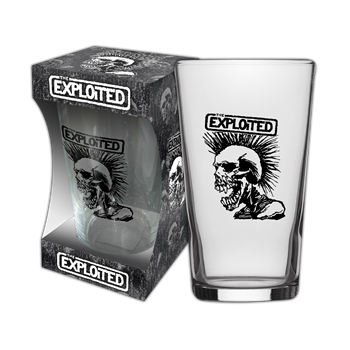 Exploited (the) Skull Beer Glass