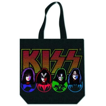 KISS Faces Tote Bag