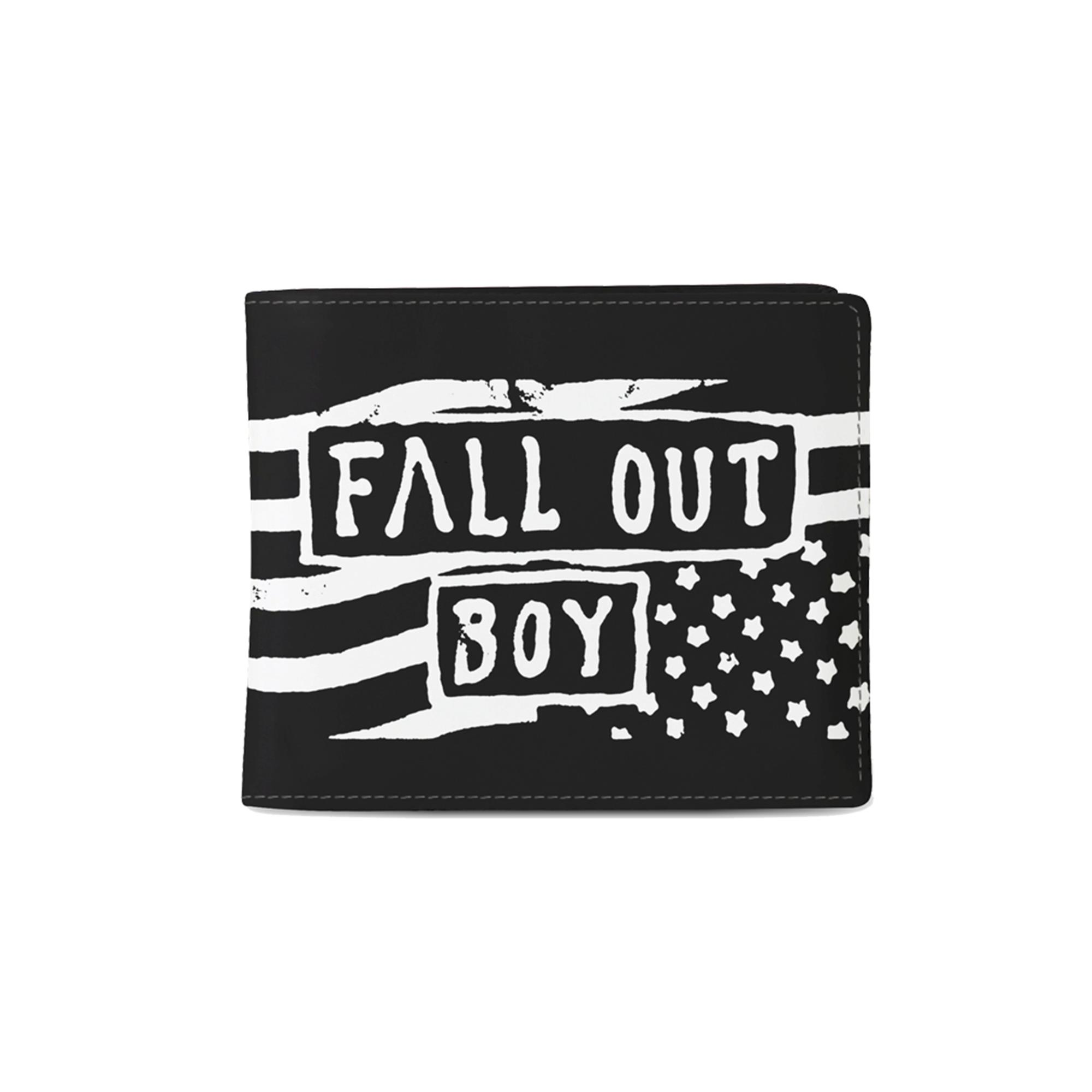 Fall Out Boy Flag Wallet