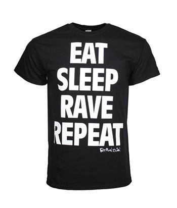 Fatboy Slim Fatboy Slim Eat Sleep T-Shirt