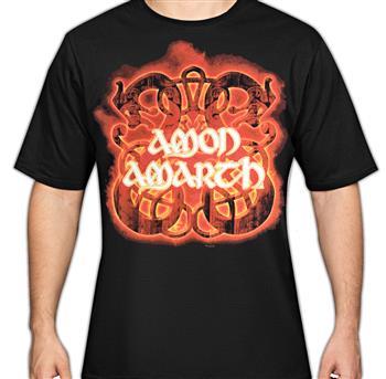 Buy Fire Horses T-Shirt by Amon Amarth