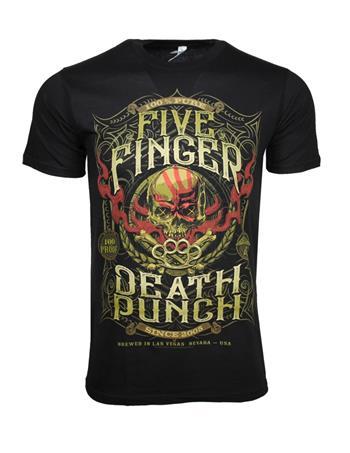 Five Finger Death Punch Five Finger Death Punch 100 Proof T-Shirt