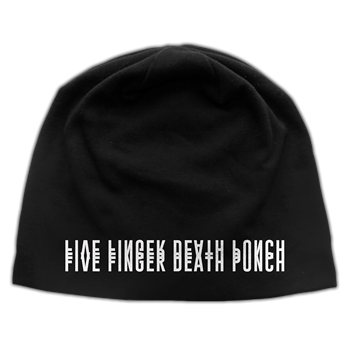Five Finger Death Punch And Justice...Logo (Discharge) Beanie