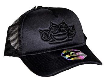 Five Finger Death Punch Five Finger Death Punch Black on Black Snapback Hat