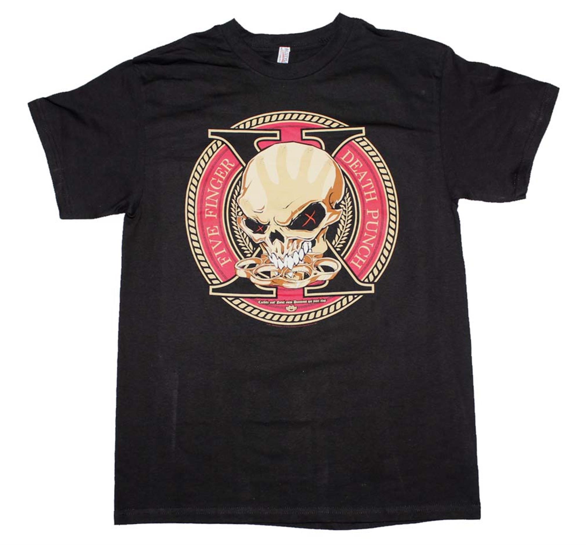 Five Finger Death Punch Decade Of Destruction T-Shirt