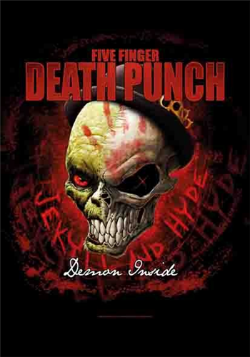 Buy Demon Inside Flag by Five Finger Death Punch