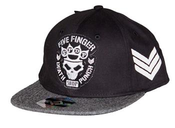 Buy Five Finger Death Punch Flat Bill Snapback Hat by Five Finger Death Punch