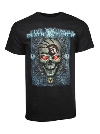 Buy Five Finger Death Punch Iron Skull T-Shirt by Five Finger Death Punch