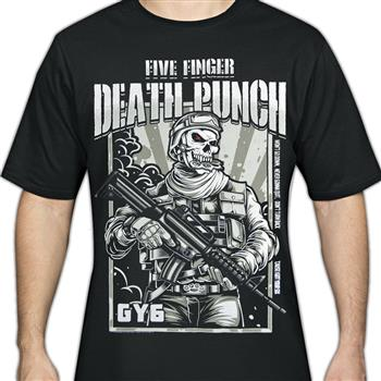 Buy Military Mascot T-Shirt by Five Finger Death Punch