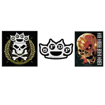 Five Finger Death Punch Five Finger Death Punch Patch Pack