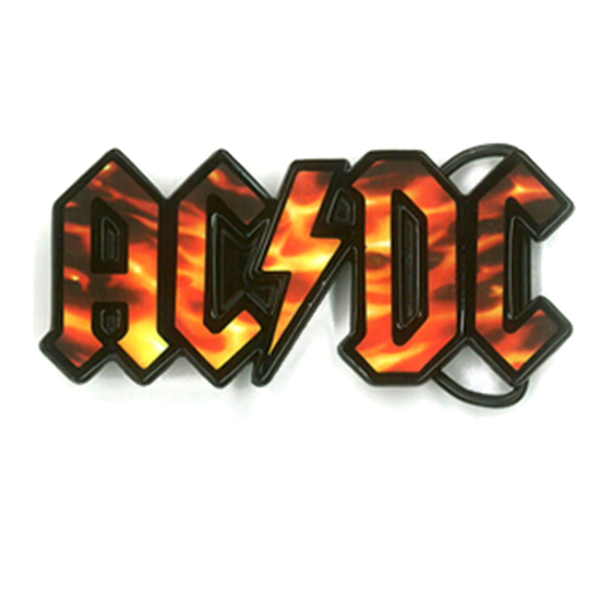 Flame Logo Buckle