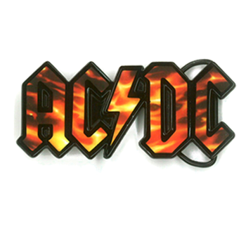 Buy Flame Logo Buckle by AC/DC