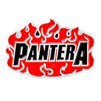 Pantera Flames Buckle