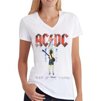 AC/DC Flick Of The Switch V-Neck Shirt
