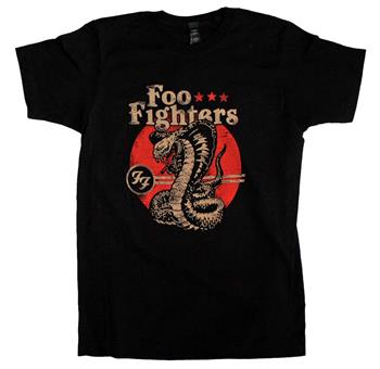 Buy Foo Fighters Cobra Soft T-Shirt by Foo Fighters