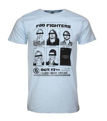 Foo Fighters Foo Fighters Cubby Bear Chicago Soft T-Shirt