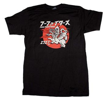 Foo Fighters Foo Fighters Many Dragons T-Shirt