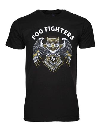 Buy Foo Fighters Owl T-Shirt by Foo Fighters