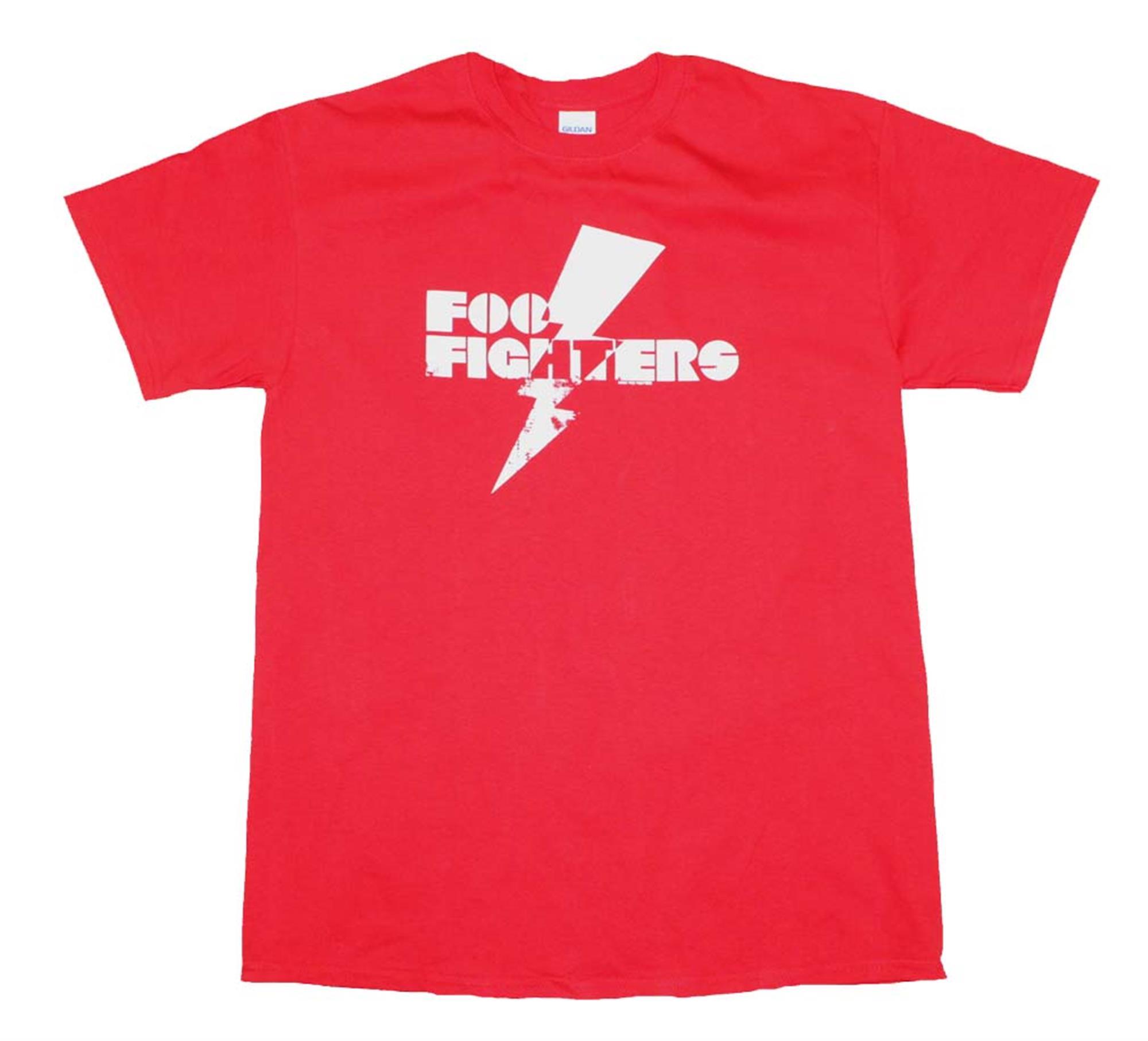 Foo Fighters Red Lightning T-Shirt