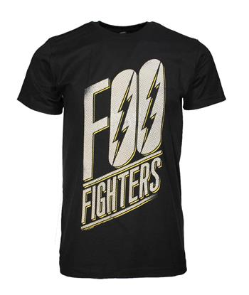 Foo Fighters Foo Fighters Slanted Logo Slim Fit T-Shirt