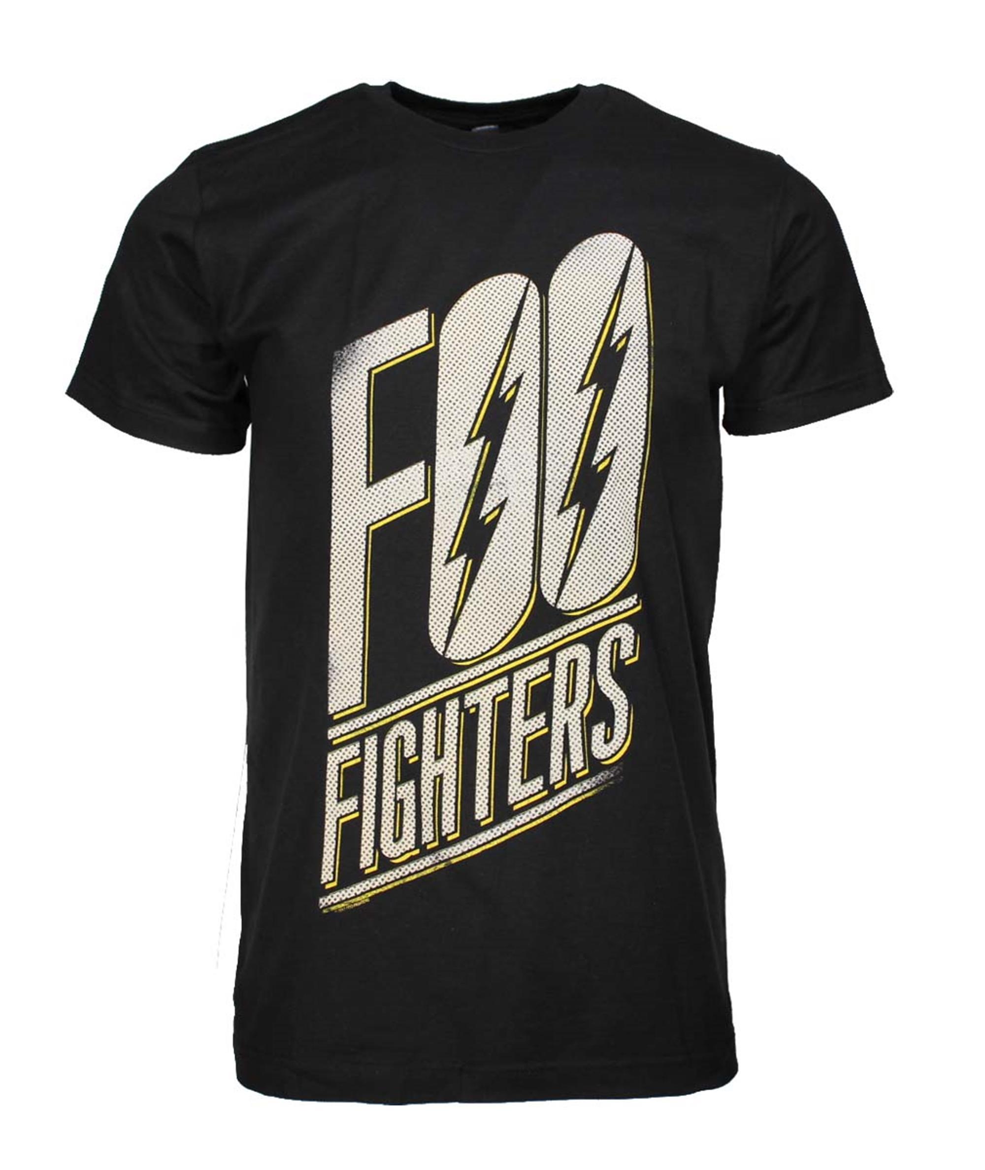 Foo Fighters Slanted Logo Slim Fit T-Shirt