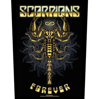 Scorpions Forever Backpatch