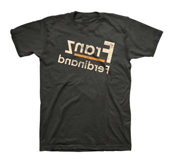 Franz Ferdinand Franz Ferdinand Reverse Logo Fitted T-Shirt
