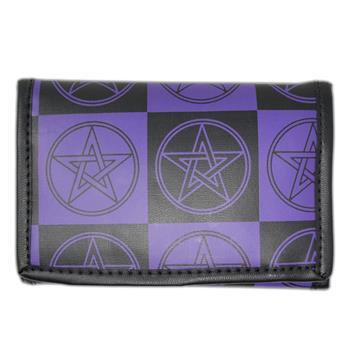 Generic Black Purple Pentagram Wallet
