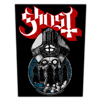 Ghost Papa Warriors Backpatch