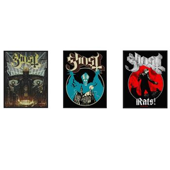 Ghost Ghost Patch Pack