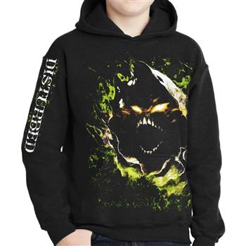 Disturbed Giant Face Zip Hoodie