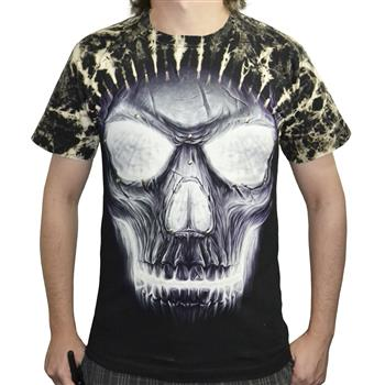 RIVET TEES Glow Skull
